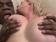Busty mature hoe gets ass...
