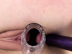 A Speculum and Anal Toy for...